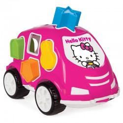 Eğitici Hello Kitty 10 Parça Bultak Araba Bul Tak