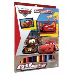 Cars Eğitici Kum Boyama Seti 2 in 1