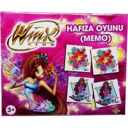 Eğitici Winx Hafıza Memo Oyunu