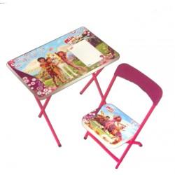 Mia ve Ben Yazı Tahtalı Masa Sandalye Seti