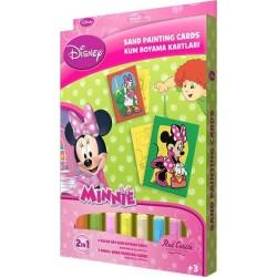 Minnie Mouse Eğitici Kum Boyama Seti