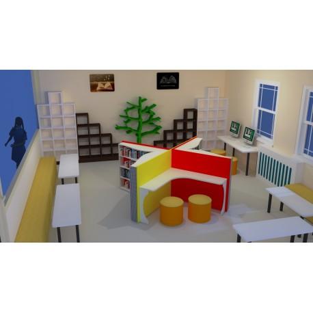 Zenginleştirilmiş Kütüphane Özel Tasarım-2 (Z-Kütüphane)