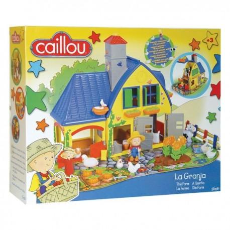 Caillou 3 Boyutlu Çiftlik Evi (puzzle-yapboz)