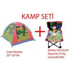 Caillou Çadır-Caillou Kamp Sandalyesi