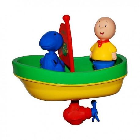Caillou Banyo Seti (Kurmalı Tekne)