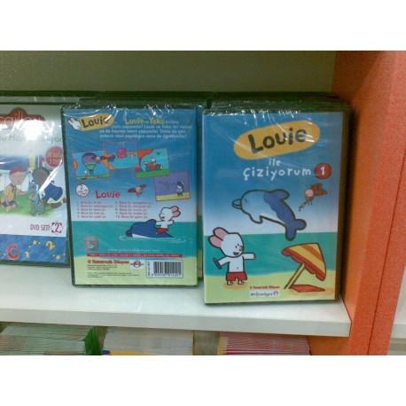 Louie DVD Seti - 1 (Louie ile çiziyorum)