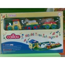 Caillou Müzikli Tren İstasyonu