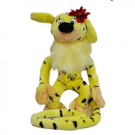 marsupilami (uzun kuyruk) peluş oyuncak 17 CM ANNE