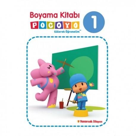 Pocoyo Boyama Kitabı 1