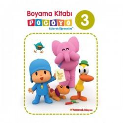 Pocoyo Boyama Kitabı 3