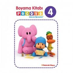Pocoyo Boyama Kitabı 4