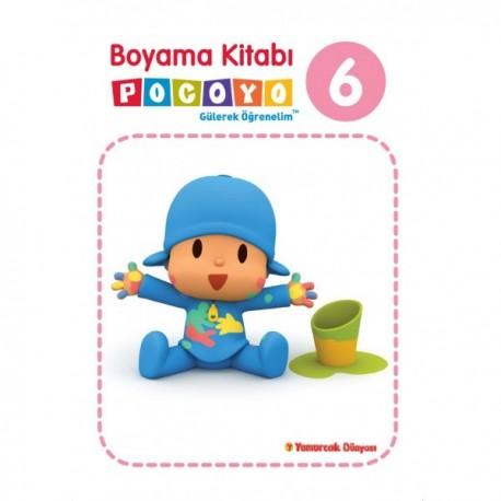 Pocoyo Boyama Kitabı 6