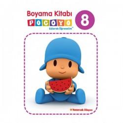 Pocoyo Boyama Kitabı 8