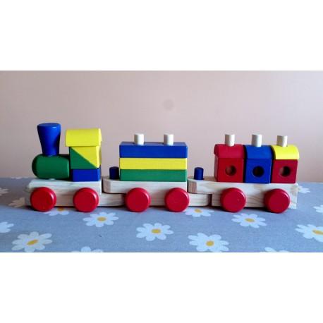 Ahşap Süper Tren